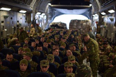 Romania trimite 200 de militari sa ajute la la operatiunile NATO de evacuare a afganilor. Decizia, luata in sedinta CSAT
