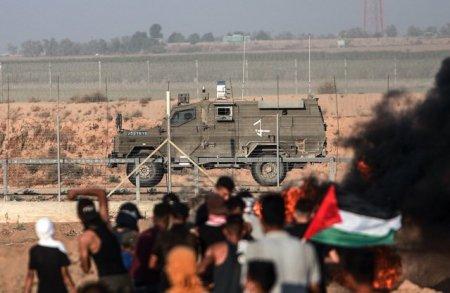 Noi violente la frontiera dintre Israel si Fasia <span style='background:#EDF514'>GAZA</span> / Mai multi palestinieni au fost raniti