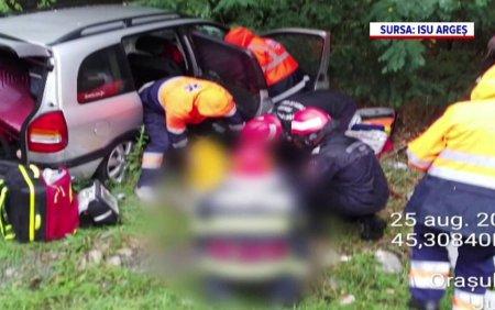 Accidente grave in Valcea si Arges. O femeie si-a pierdut viata dupa ce a fost lovita de un buldoexcavator