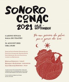 Turneul SoNoRo Conac IX continua cu doua concerte la Casinoul Sinaia si Conacul Bellu din Urlati