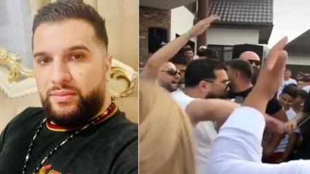 Tzanca Uraganu, amendat de politistii constanteni pentru tulburarea linistii publice, la o nunta in strada