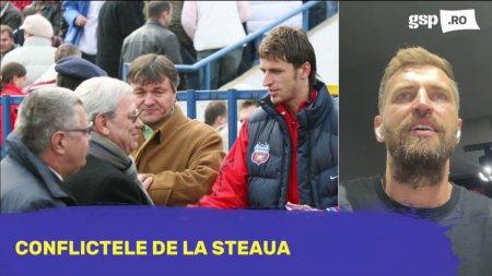 Florin Lovin despre conflictele de la Steaua cu Lacatus si Hagi: Erau momente cand ma <span style='background:#EDF514'>HUIDU</span>ia tot stadionul
