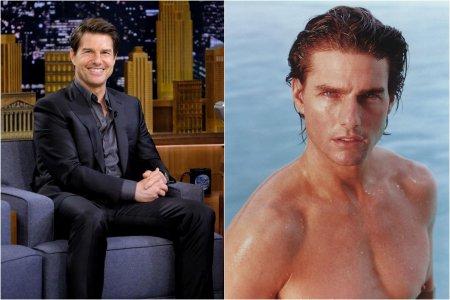 Tom Cruise a <span style='background:#EDF514'>ATERIZA</span>t cu elicopterul in curtea unei familii. Misiune posibila pentru starul de la Hollywood care filma