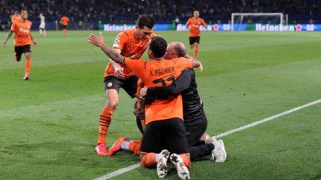 Sahtior, calificare norocoasa in grupele Champions League