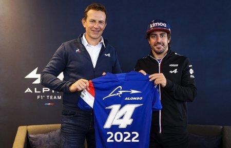 <span style='background:#EDF514'>FERNANDO</span> Alonso ramane in Formula 1 pentru inca un an