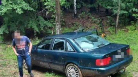 Patru turisti maghiari s-au ratacit intr-o padure din Arges dupa ce au fost pacaliti de GPS