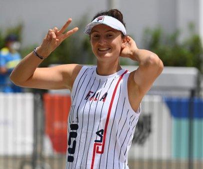Irina Begu ajunge in semifinale la C<span style='background:#EDF514'>LEVEL</span>and