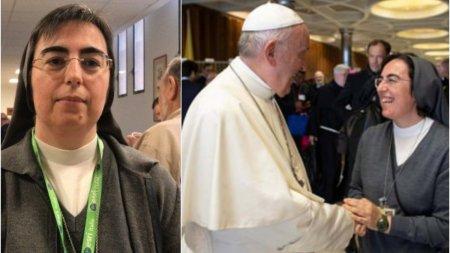 Ea este prima calugarita numita de Papa Francisc in doua functii extrem de importante la Vatican