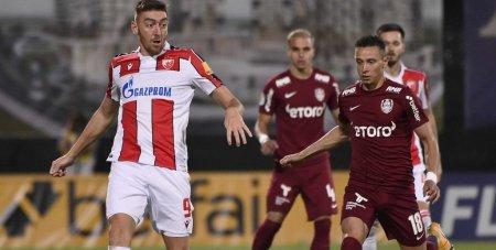 CFR Cluj - Steaua Rosie Belgrad 1-2. Campioana Romaniei a ratat calificarea in grupele Europa League