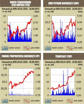 BVB Cresteri pentru indici, in ciuda declinului de pe pietele externe