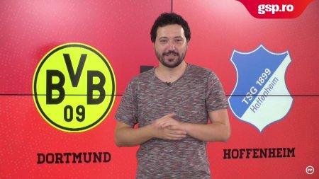 Meciul Zilei Borussia Dortmund - Hoffenheim. Se anunta spectacol in <span style='background:#EDF514'>BUNDESLIGA</span>