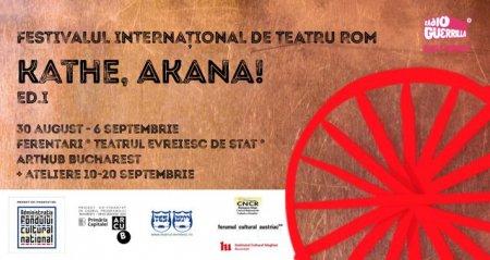 Primul festival international de teatru rom din Romania
