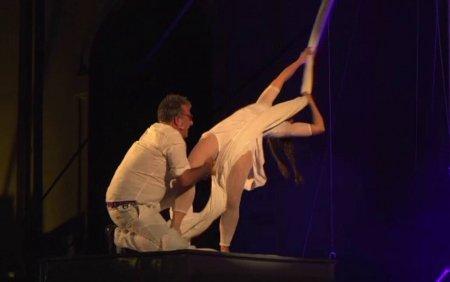 Ultimele spectacole de la Festivalul de Teatru de <span style='background:#EDF514'>LA SIBIU</span>. Se anunta un weekend incendiar