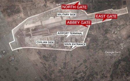 Filmul atacurilor de langa aeroportul din Kabul, revendicate de ISIS-K. Doua explozii au ucis cel putin 90 de oameni