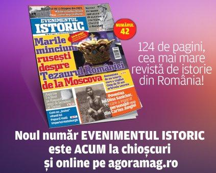 Afla adevarul despre Tezaurul Romaniei de la Moscova din noul numar Evenimenul Istoric