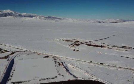 A nins in cel mai secetos loc de pe Pamant
