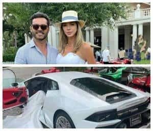 Alina Vidican a plecat de la propria-i nunta cu un Lam<span style='background:#EDF514'>BORG</span>ini de 400.000 dolari /FOTO