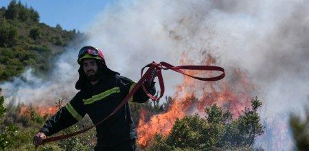 Pompierii romani in Grecia: Salvatorii au noi misiuni