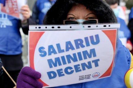 Cat era salariul minim pe economie in Romania acum 20 de ani si cum a evoluat valoarea sa