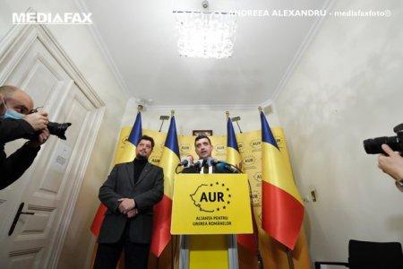 AUR initiaza negocierile pentru depunerea unei motiuni de cenzura la inceputul sesiunii parlamentare de toamna