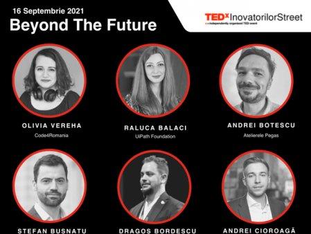 13 inovatori romani, invitati la Beyond the Future, primul eveniment TEDxInovatorilorStreet