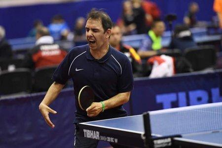 Jucatorul de tenis de masa Bobi Simion, pe 5 la Jocurile Paralimpice de la Tokyo