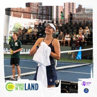 Irina Begu s-a calificat in finala de la C<span style='background:#EDF514'>LEVEL</span>and