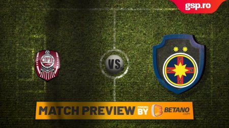 Etapa 7 // Match P<span style='background:#EDF514'>REVIEW</span> CFR Cluj - FCSB