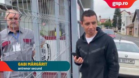 Gabi <span style='background:#EDF514'>MARGA</span>rit, secundul lui Șumudica, nu este lasat sa intre in stadion