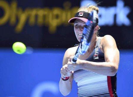 Irina Begu - Anett Kontaveit, finala de la C<span style='background:#EDF514'>LEVEL</span>and. Cand este programat meciul de tenis