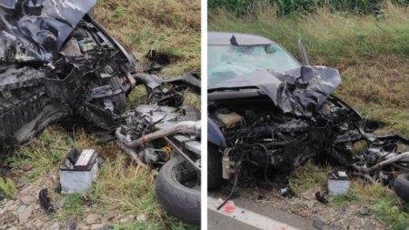 Tanar motociclist, mort dupa ce a fost lovit de o masina, in Costesti, Iasi