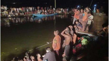 21 de morti, printre care femei si copii, si zeci de <span style='background:#EDF514'>DISPARUTI</span>, dupa ce o barca s-a scufundat in Bangladesh