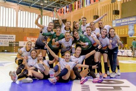 CSM Bucuresti si <span style='background:#EDF514'>GLORIA BUZAU</span> vor juca finala Cupei Romaniei