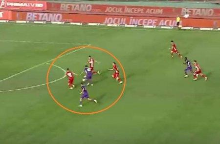 Cristi Tanase, gol de senzatie in poarta lui Dinamo! Esanu, fara reactie