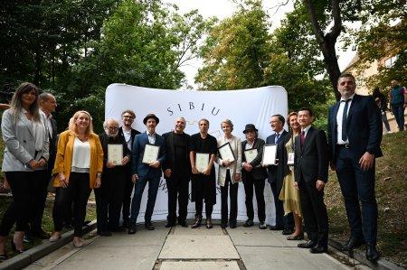 Festivalul International de Teatru a decernat sapte noi stele pentru Aleea Celebritatilor din Sibiu