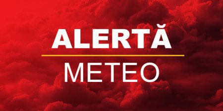 Avertizare METEO Cod portocaliu, valabila sambata seara. ANM anunta furtuni si grindina in 2 judete din Romania