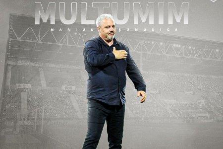 OFICIAL. CFR Cluj s-a despartit de antrenorul Marius Șumudica. Anuntul campioanei
