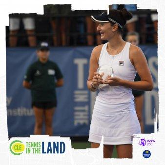 Irina Begu invinsa in finala de la C<span style='background:#EDF514'>LEVEL</span>and