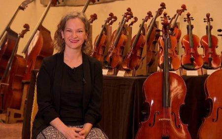 Interviu exclusiv cu <span style='background:#EDF514'>HILARY</span> Hahn, una dintre cele mai mari violoniste ale lumii. Ce spune despre Romania