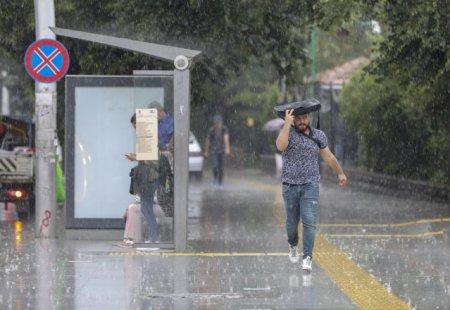 METEO. Prognoza speciala pentru Bucuresti: Ploi si temperaturi de pana la 27 grade, pana luni