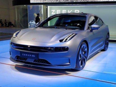 Marca de vehicule electrice Zeekr a atras 500 de milioane de dolari in prima sa finantare externa