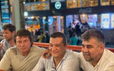 Ciolacu ii transmite din <span style='background:#EDF514'>VAMA VECHE</span> ironii lui Citu: Florin, noi suntem aici. Tu?!