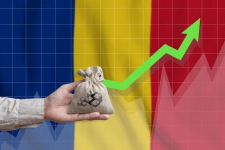Fondul Monetar International prognozeaza o <span style='background:#EDF514'>CRESTERE ECONOMICA</span> de 7% pentru Romania, in 2021