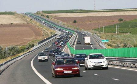 Carambol cu sapte masini pe Autostrada Soarelui: Trafic ingreunat pe sensul de mers spre Bucuresti