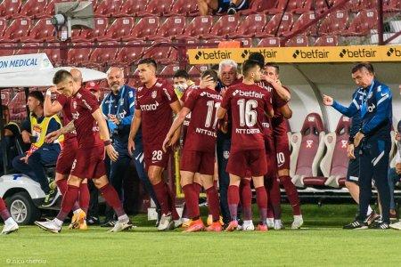 Liga I: CFR Cluj - FCSB 4-1. Echipa ardeleana, lider autoritar in campionat (Video)