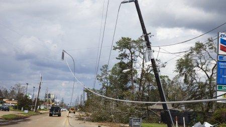 Uraganul Ida a lovit coasta SUA cu rafale de vant de 240 km/h. Peste 400 de mii de oameni au ramas fara curent, in <span style='background:#EDF514'>LOUISIANA</span>