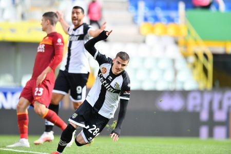 Mihaila, decisiv pentru Parma la primul meci dupa patru luni
