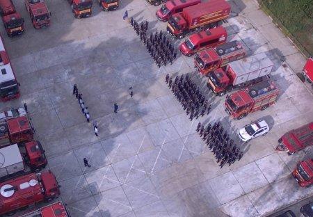 Mesajul lui Florin Citu pentru pompierii romani care au revenit din Grecia. Felicitari pentru tot efortul si <span style='background:#EDF514'>CURAJUL</span> lor! Mandri de voi!