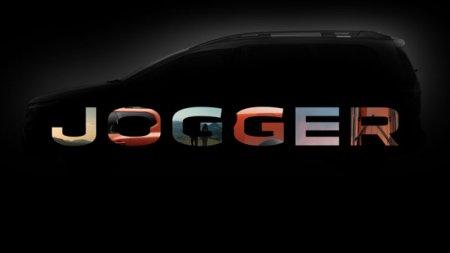 Noul model de familie cu 7 locuri al marcii Dacia se va numi Jogger si va fi lansat oficial pe 6 septembrie, la <span style='background:#EDF514'>SALONU</span>l International Auto de la Munchen