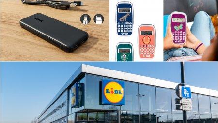 Ofertele <span style='background:#EDF514'>LIDL</span>: Gadgeturi pentru scoala si multe produse utile la pretul de 30 de lei